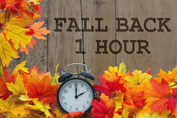 fall back one hour