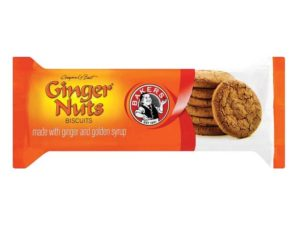Bakers Ginger Nuts Biscuits Regular