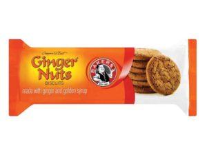 Bakers Ginger Nuts Biscuits Regular