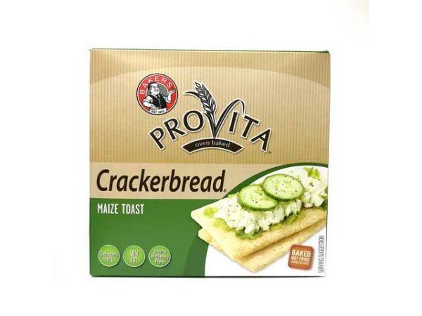 Bakers Provita Crackerbread Maize