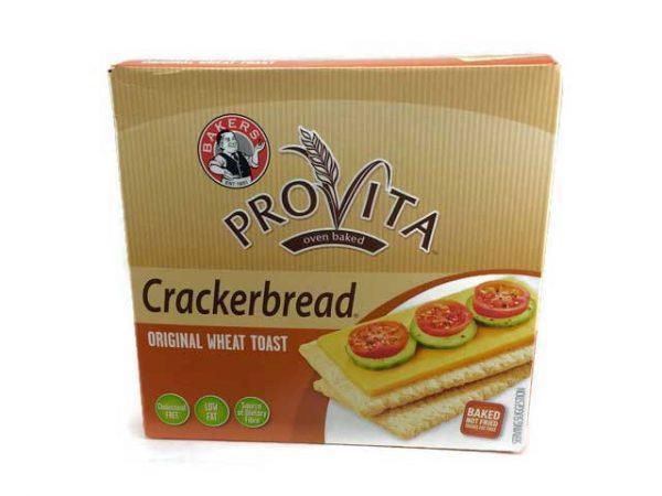 BAkers Provita Crackerbread Original Wheat