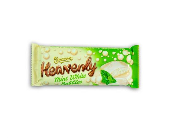 beacon heavenly mint white bubbles