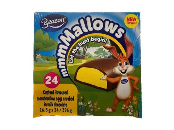beacon marshmallow custard eggs