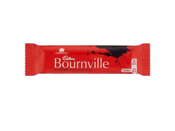 cadbury bournville clasic dark chocolate bar