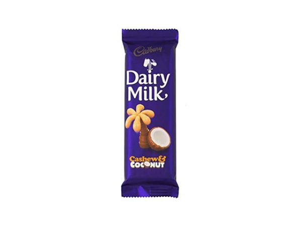 cadbury dairy milk cashew and coconut