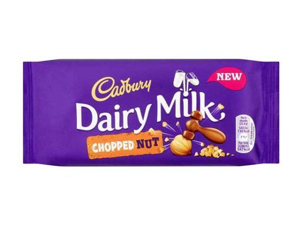 cadbury dairy milk chopped nut