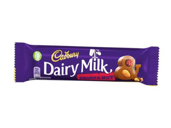 cadbury dairy milk fruit and nut small
