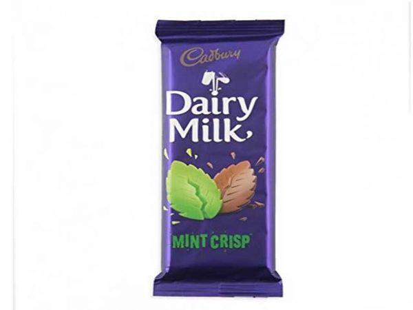 cadbury dairy milk mint crisp large