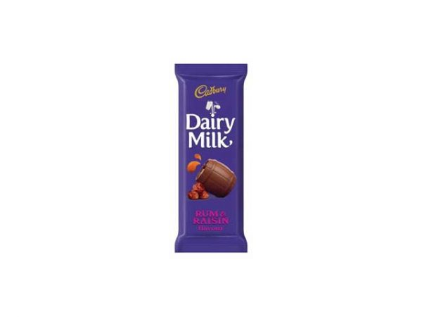 cadbury dairy milk rum and raisin