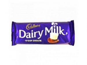cadbury dairy milk top deck small