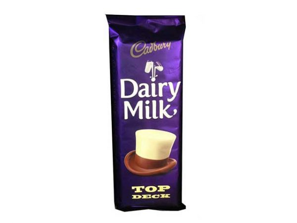 cadbury dairy milk top deck large