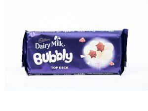 cadbury dairy milk top deck bubbly