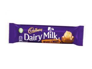 cadbury dairy milk whole nut small