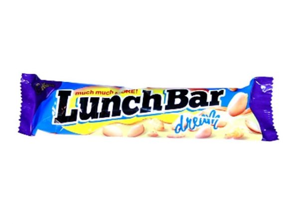 cadbury lunch bar dream white chocolate