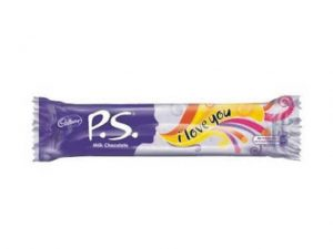 cadbury p.s. milk chocolate