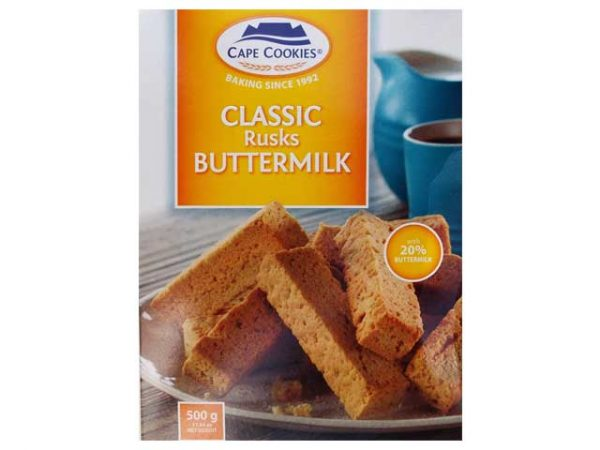 CAPE COOKIES RUSKS BUTTERMILK