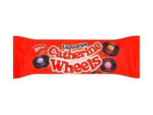 catherine liquorice wheels