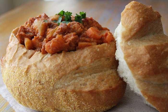 durban curry bunny chow