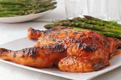 flattened chicken
