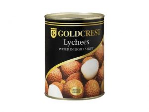 goldcrest lychees in light syrup