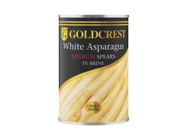 goldcrest white asparagus medium spears in brine