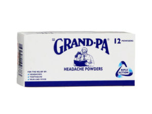 grand-pa headache powders