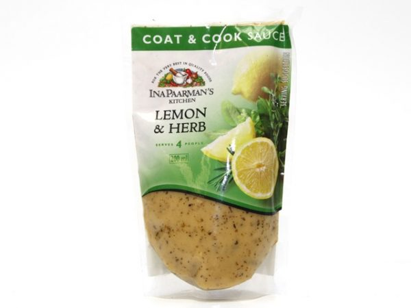 INA PAARMAN COOK 'N COAT lemon and herb