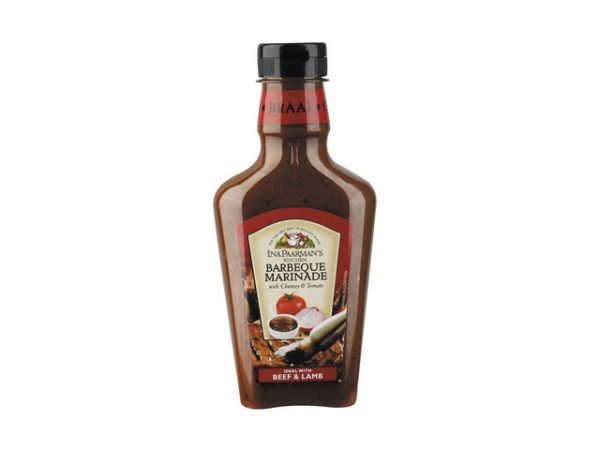 ina paarman marinade barbecue with chutney and tomato