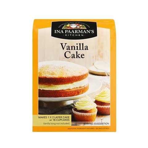 ina paarman cake mix vanilla