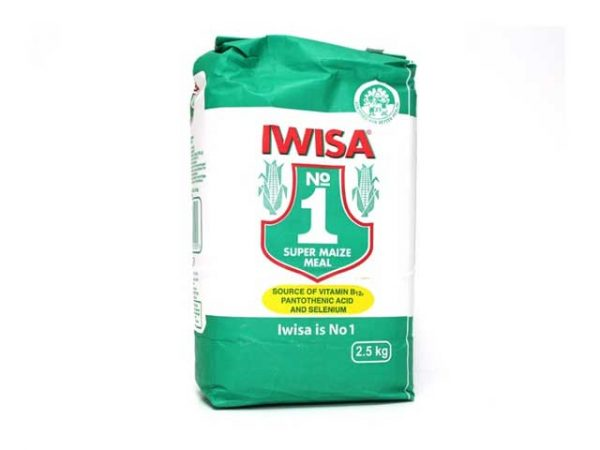 iwisa super maize meal 2.5 kg