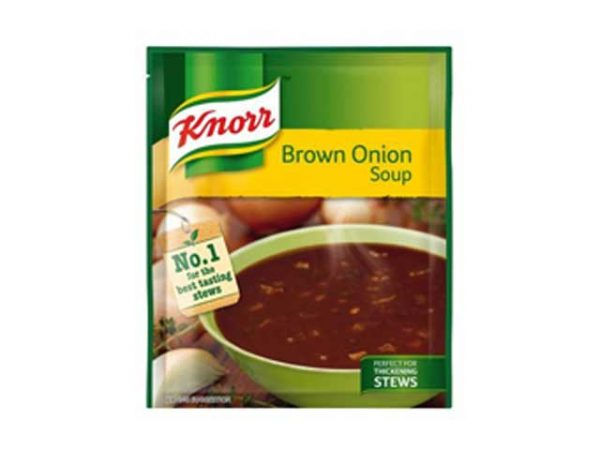 knorr soups brown onion