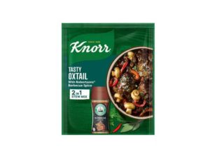 knorr tasty oxtail with robertons barbecue sauce