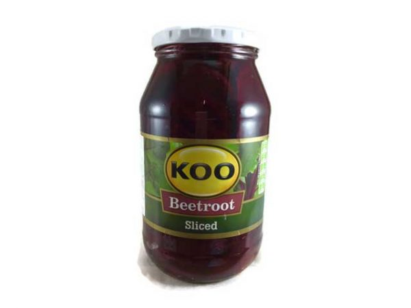 koo beetroot salad sliced