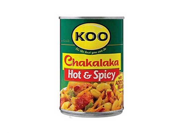 koo chakalaka hot and spicy
