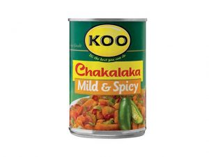 koo chakalaka mild and spicey