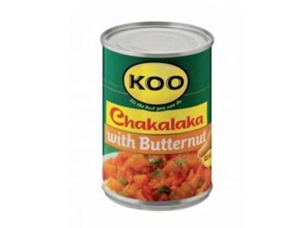 koo chakalaka with butternut