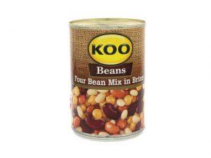 koo four bean mix in brine