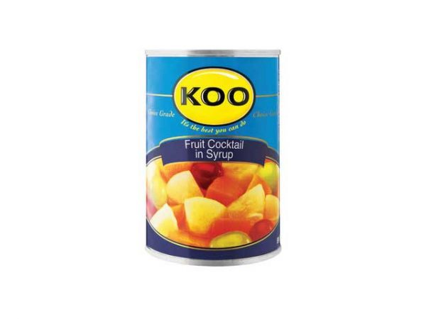 koo fruit cocktail in syrup