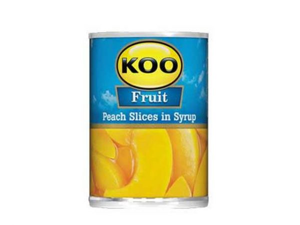 koo peach slices in syrup