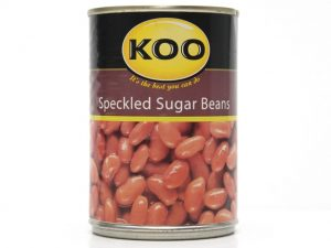 KOO SPECKLED SUGAR BEANS
