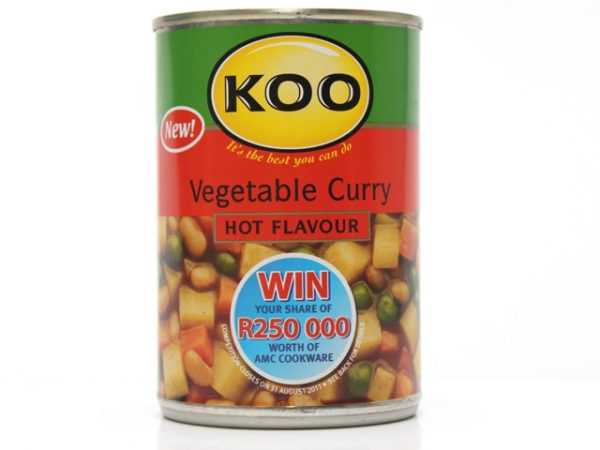 koo vegetable curry hot
