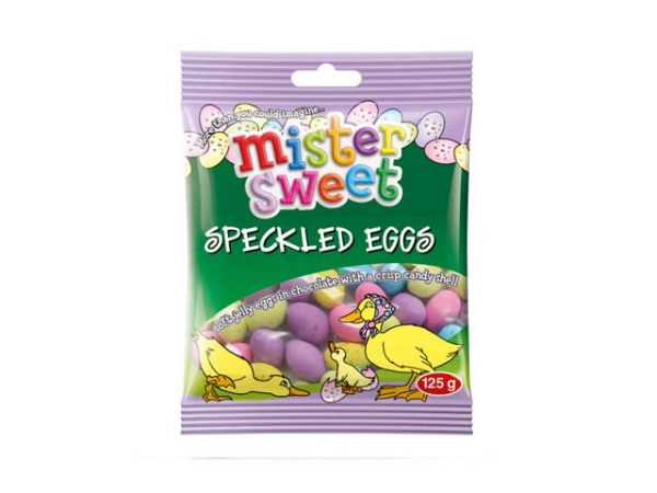 mister sweet speckled eggs