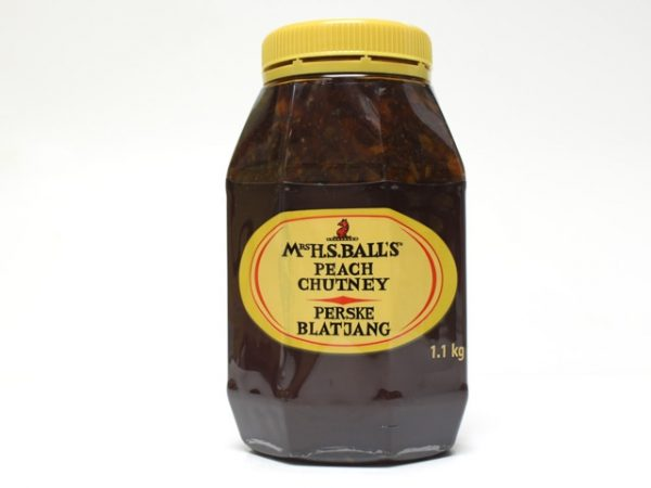 MRS BALLS CHUTNEY peach large