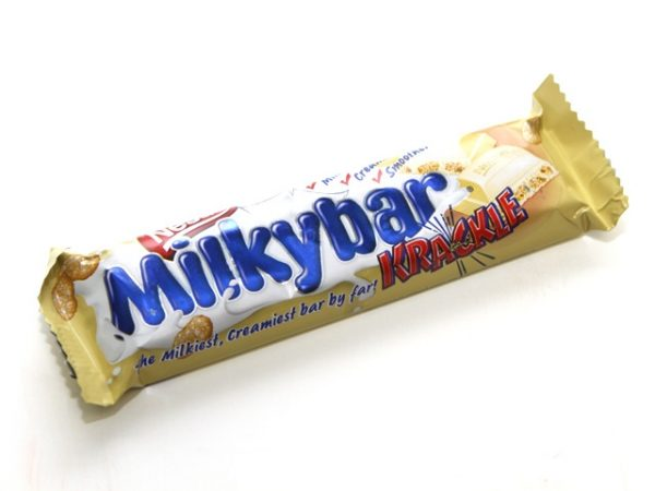 nestle milky bar krackle