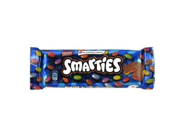 Nestle Smarties slab