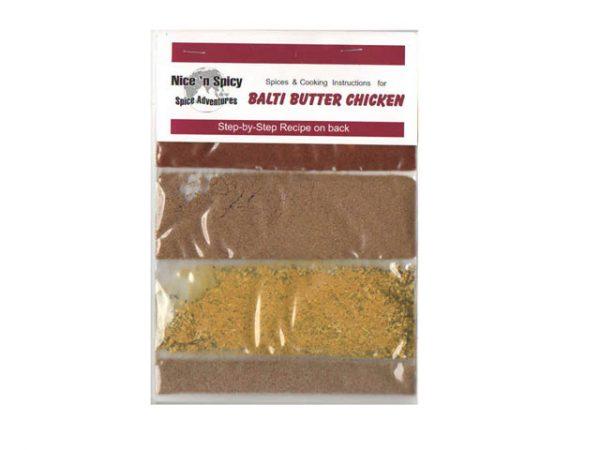 nice n spicy balti butter chicken