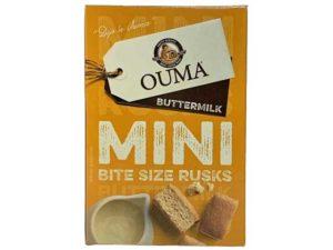 ouma mini bite sized rusks buttermilk
