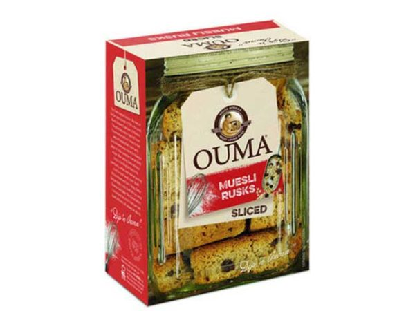 ouma rusks museli sliced