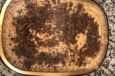 peppermint crisp pudding