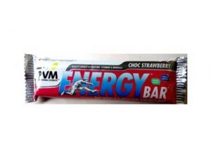 PVM ENERGY BAR CHOC STRAWBERRY